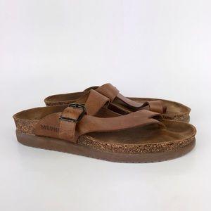 Mephisto Leather Helen Thong Womens Sandal 39
